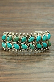 Wild Lilies Jewelry  Turquoise Boho Cuff - Product Mini Image
