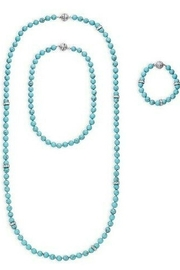 C+I Turquoise Convertible Necklace Bracelet Set - Product Mini Image