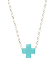 enewton designs Turquoise Cross Necklace - Product Mini Image