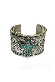JChronicles Turquoise Cuff Bracelet - Front cropped