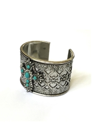JChronicles Turquoise Cuff Bracelet - Front full body
