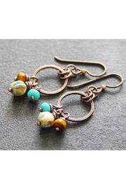 RELMoriginals Turquoise Czech Earrings - Product Mini Image