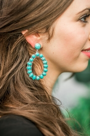 Bag Boutique Turquoise Earrings - Product Mini Image