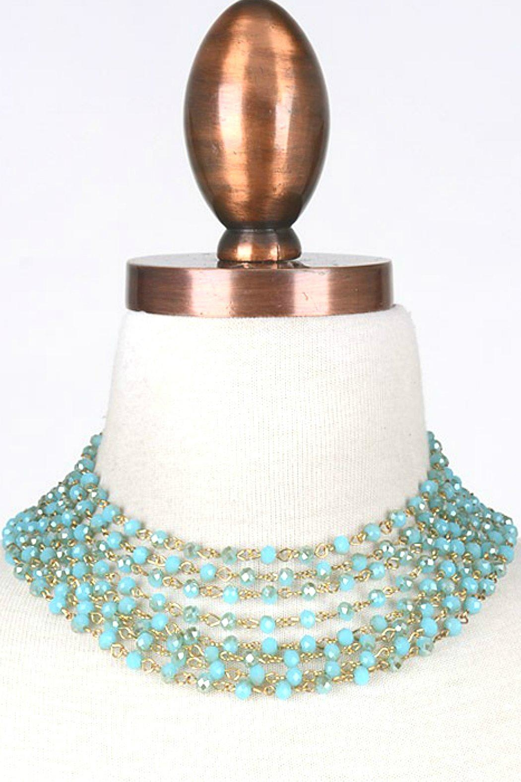 Minx Turquoise Goddess Necklace - Main Image