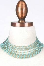 Minx Turquoise Goddess Necklace - Front cropped