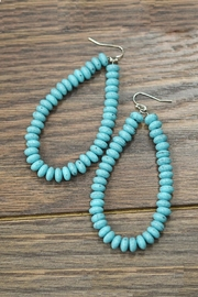 JChronicles Turquoise Hoop Earring - Product Mini Image