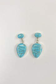 Jan Jachimek Turquoise Inlay Earring - Product Mini Image