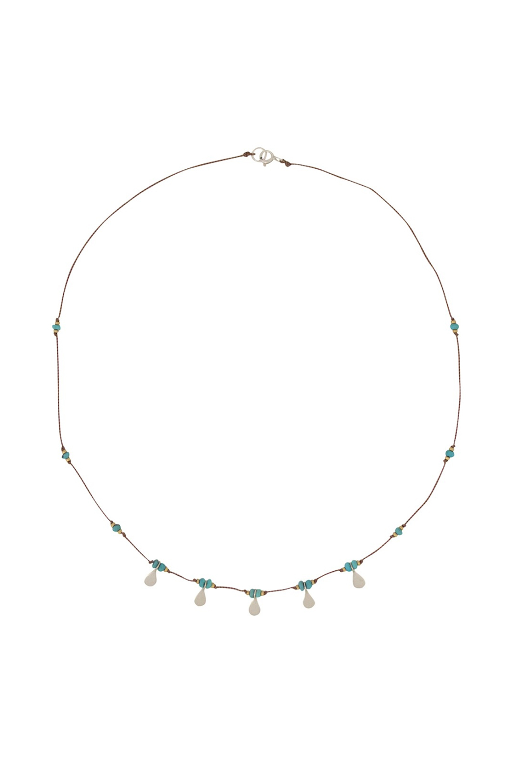 Brownen Turquoise Isis Necklace - Main Image