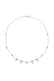 Brownen Turquoise Isis Necklace - Front cropped