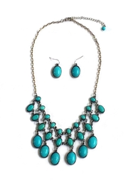 JChronicles Turquoise Layered Neckalce-Set - Product Mini Image