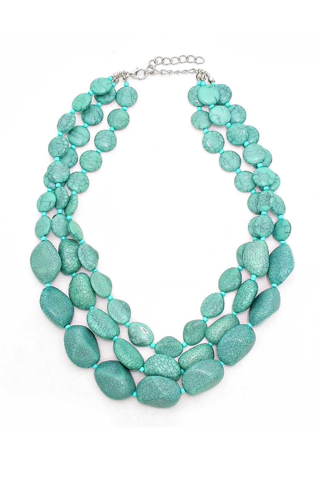 Wild Lilies Jewelry  Turquoise Layered Necklace - Main Image