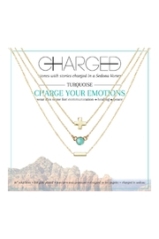CHARGED Turquoise Layered Necklaces - Product Mini Image