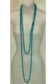 L & B CREATIONS TURQUOISE NECKLACE - Product Mini Image