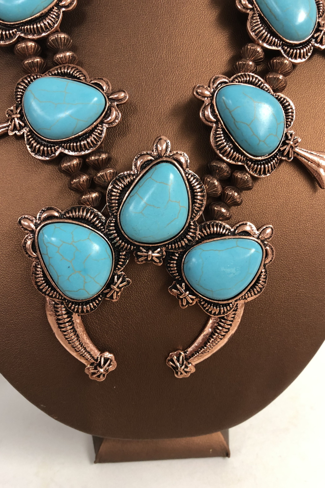 Cindy smith Turquoise Necklace and Earring Set - Side Cropped Image