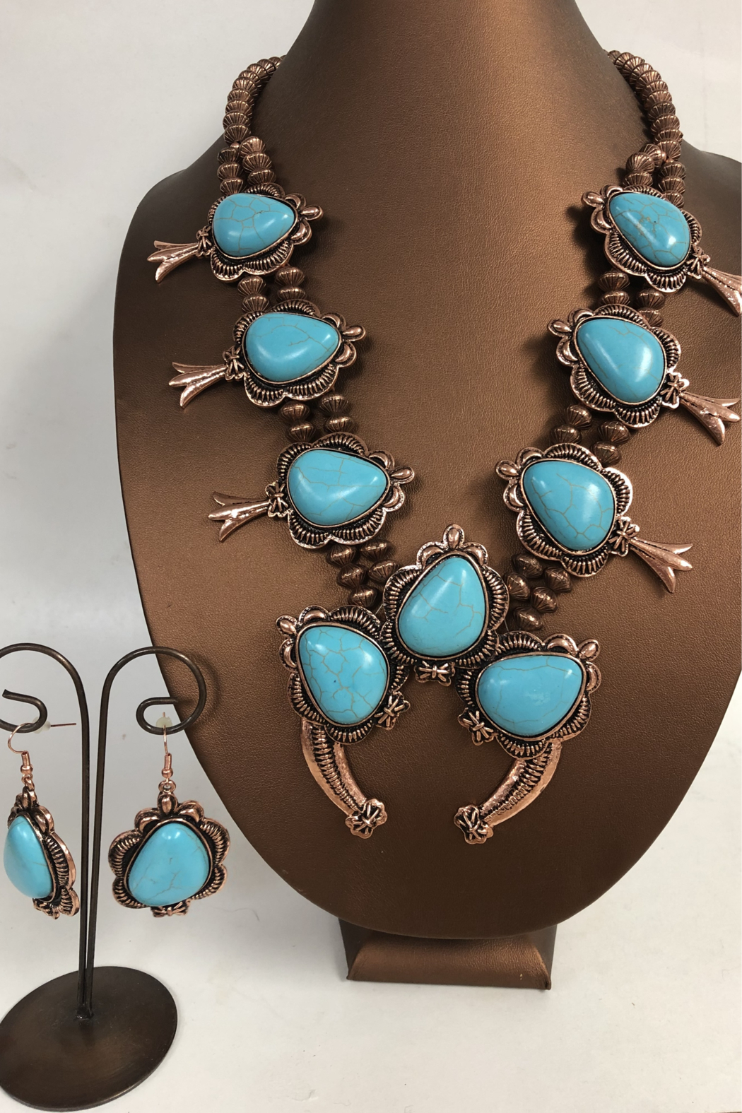Cindy smith Turquoise Necklace and Earring Set - Main Image