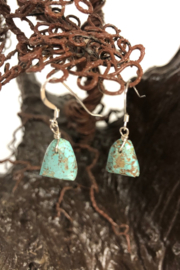Shiprock Trading Post Turquoise Nugget Earring - Product Mini Image