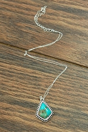 Wild Lilies Jewelry  Turquoise Pendant Necklace - Product Mini Image