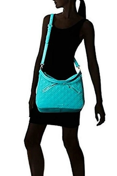 Vera Bradley Turquoise Sea Vivian-Hobo - Alternate List Image