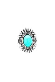 Wild Lilies Jewelry  Turquoise Shield Ring - Product Mini Image