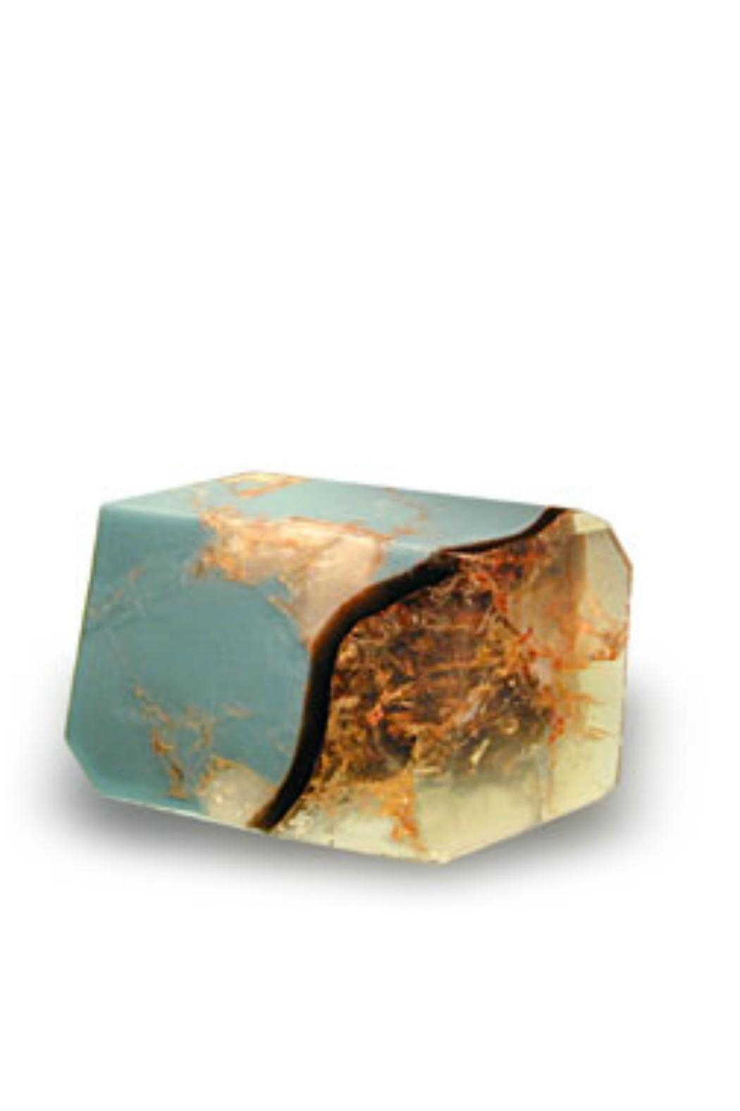 T.S. Pink Turquoise Soap Rock - Main Image