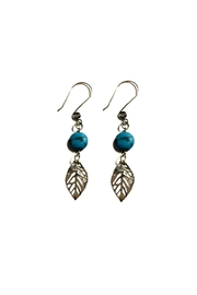 Love's Hangover Creations Turquoise Statement Earrings - Product Mini Image