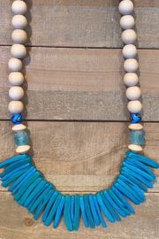 Allie & Chica Turquoise Sticks Necklace - Product Mini Image