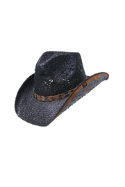 Peter Grimm Turquoise Studded Hat - Front cropped