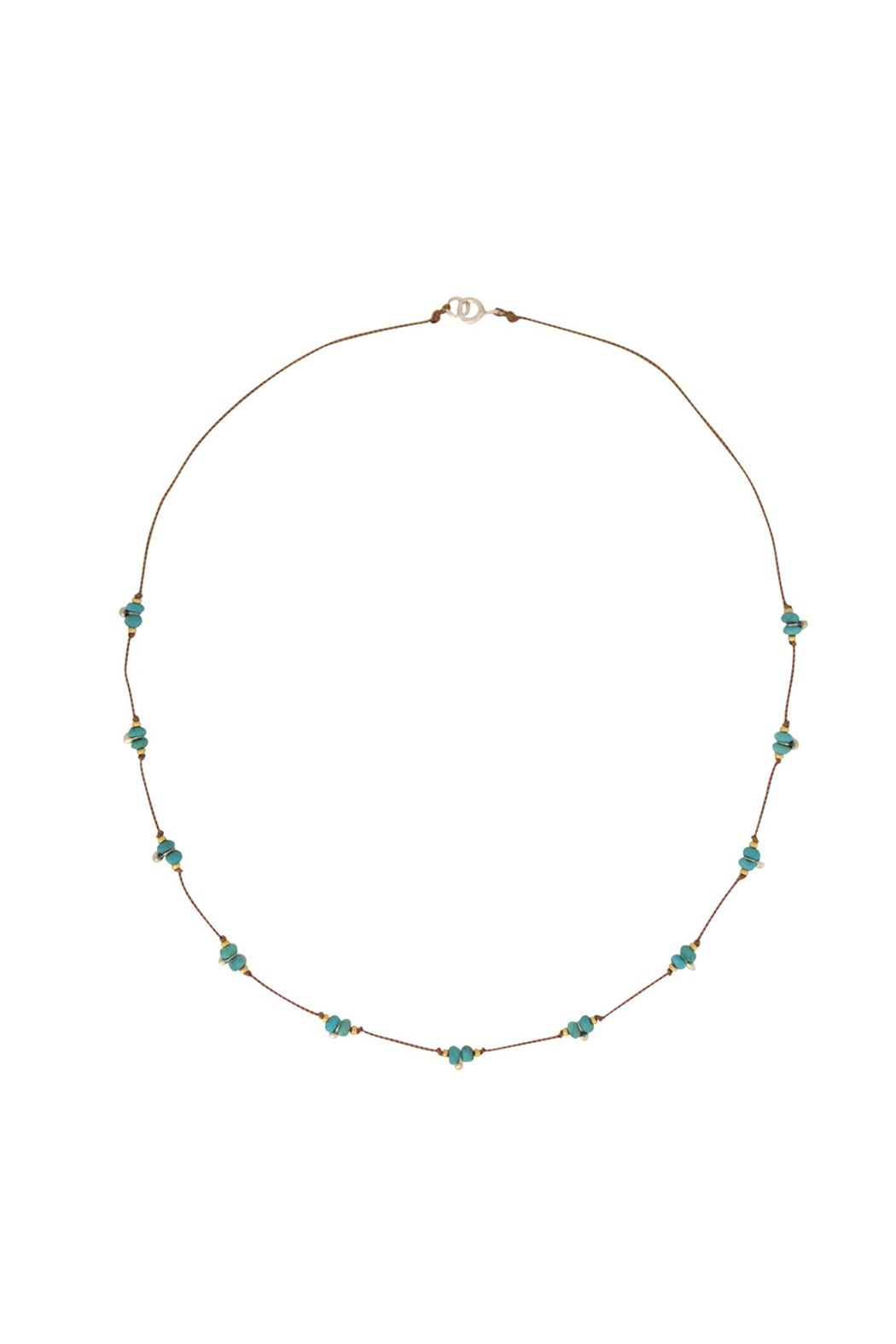 Bronwen Turquoise Trail Necklace - Main Image