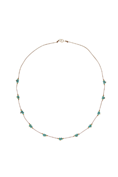 Bronwen Turquoise Trail Necklace - Alternate List Image