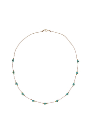 Bronwen Turquoise Trail Necklace - Product Mini Image