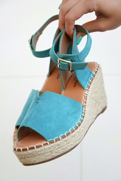 Lets See Style Turquoise Wedges - Product List Image