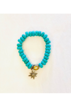 The Woods Fine Jewelry  Turquoise with Star Charm - Alternate List Image