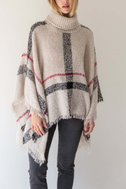 Mystree Turtle Neck Cape - Front cropped