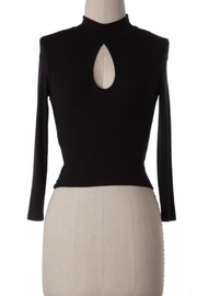 Cherish Turtle-Neck Crop Top - Front cropped