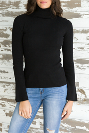 Mystree Turtle neck ribbed sweater - Product Mini Image