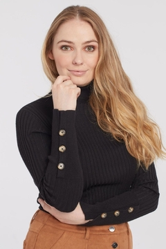 Tribal  Turtle Neck Sweater - Product List Image