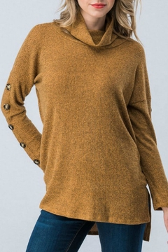 Trend:notes Turtle Neck Sweater - Product List Image