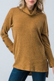 Trend:notes Turtle Neck Sweater - Product Mini Image