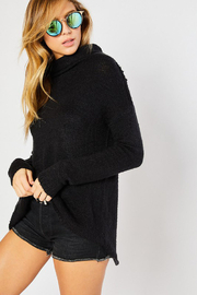 Mittoshop Turtle Neck Sweater - Back cropped