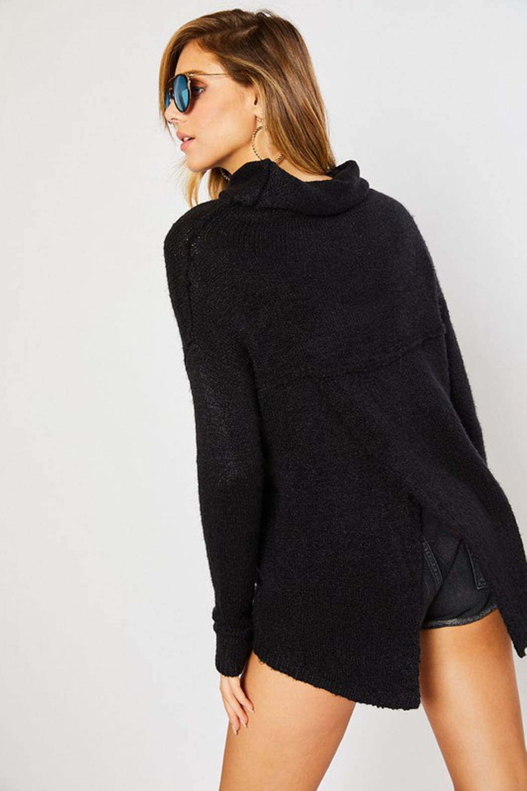 Mittoshop Turtle Neck Sweater - Side Cropped Image