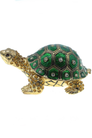 Kubla Crafts Turtle Trinket Box - Product Mini Image