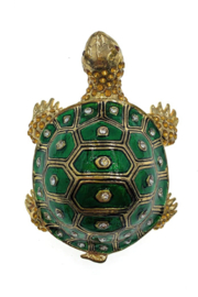 Kubla Crafts Turtle Trinket Box - Side cropped