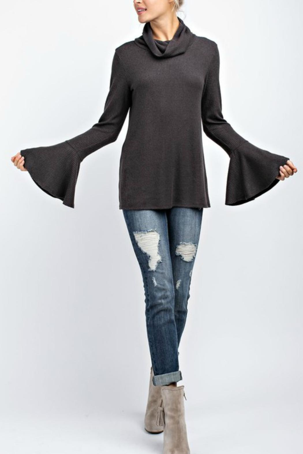 143 Story Turtleneck Bell-Sleeve Top - Main Image
