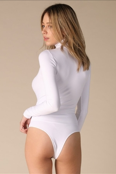 Nikibiki Turtleneck Bodysuit, Black - Alternate List Image