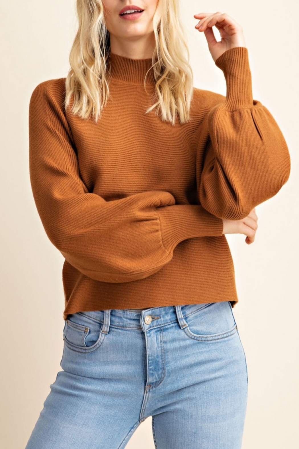 Gilli Turtleneck dolman sweater - Main Image