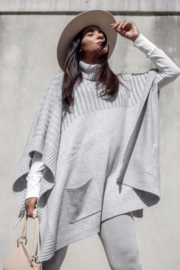 Lovestitch  Turtleneck Poncho - Product Mini Image
