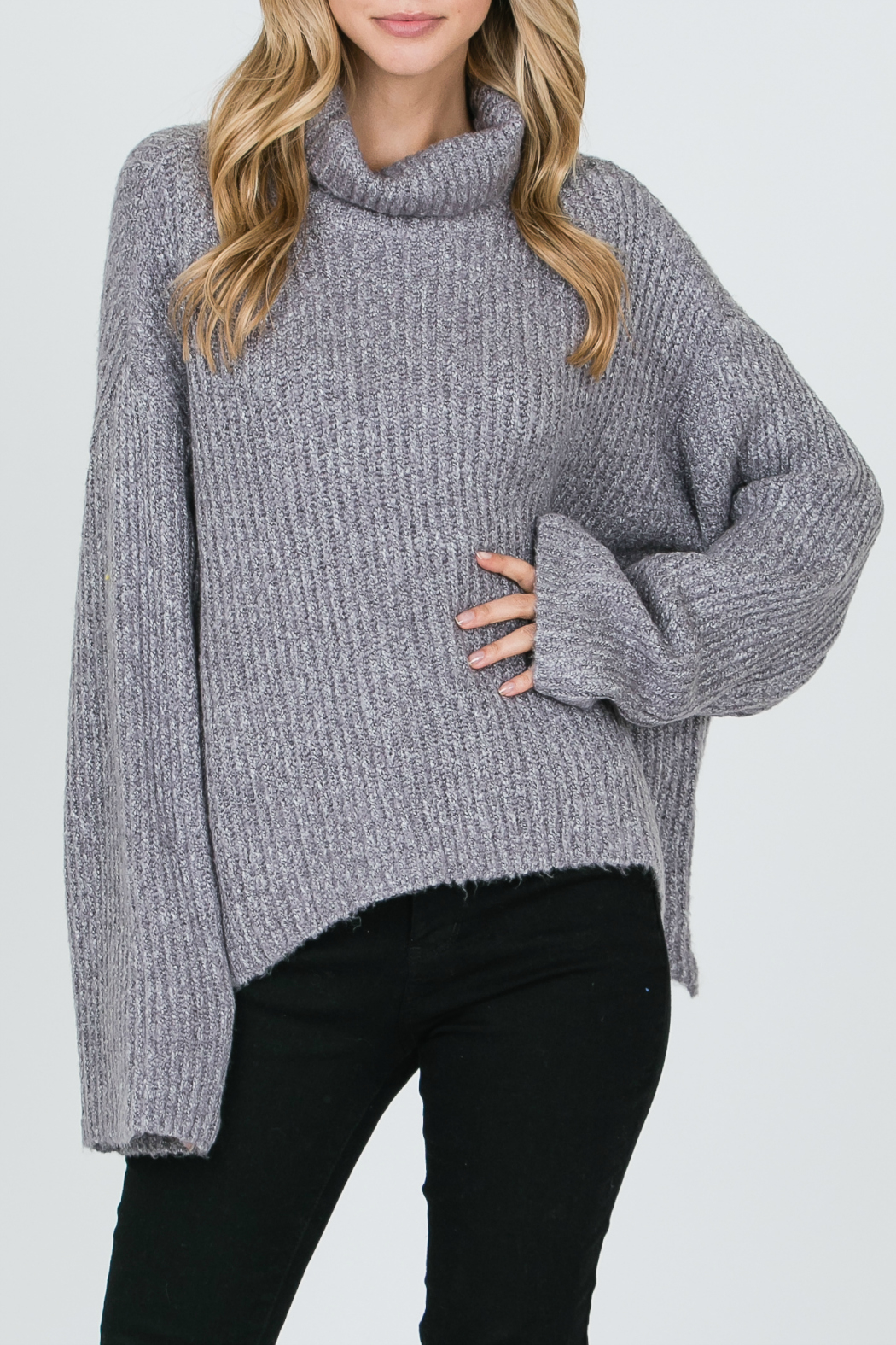 Allie Rose Turtleneck Sweater - Main Image