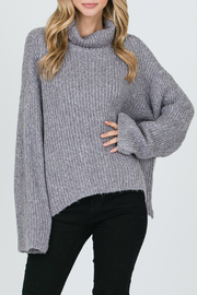 Allie Rose Turtleneck Sweater - Front cropped