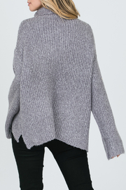 Allie Rose Turtleneck Sweater - Front full body