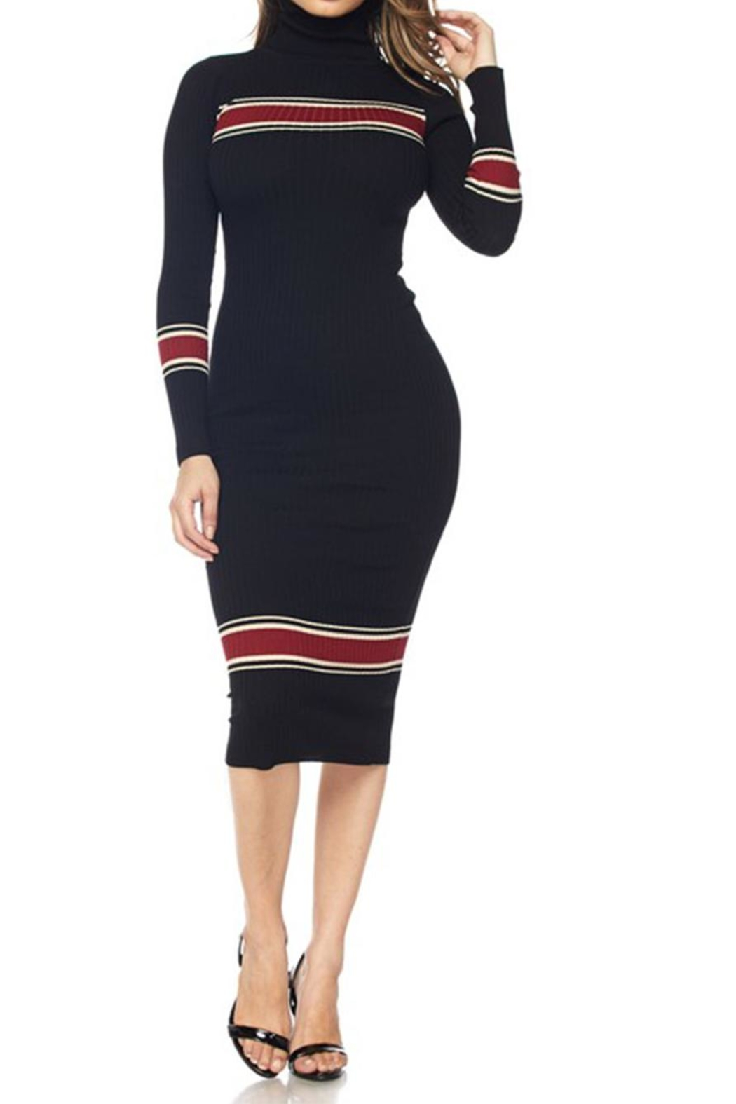 be90994464 hera collection Turtleneck Sweater Dress from New York by Dor L Dor ...